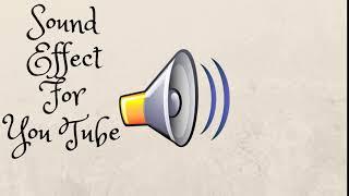 Sound Effect Youtube (Iluminati Copy)