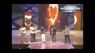 LA FORMULA @PinaRecords - Diosa de los Corazones (Club Version) Live @MissUniversePuertoRico2013