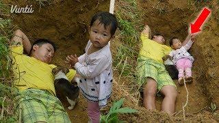 Mira por que lleva a su hija a este hoyo todos los días. Lloraras