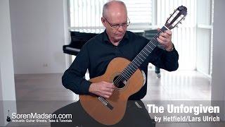 The Unforgiven by Metallica - Danish Guitar Performance - Soren Madsen