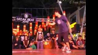 BreakBeat Cypher vol 1 day 1 1on1 simifinal Serious Bank vs A T D