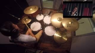 KYNE - light it up - drum cover