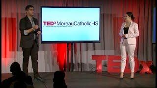 Breaking The Taboo | Sofia Herrera Padilla & Sarang Raj | TEDxMoreauCatholicHS