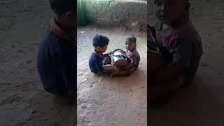 लहान मुलांची मौज मस्ती