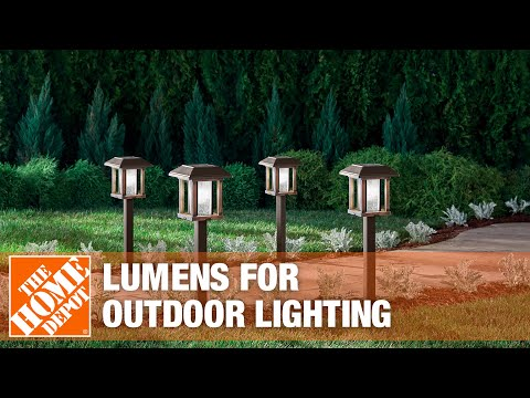 How Many Lumens are Needed for Outdoor Lighting