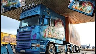 Truckertreffen Frontenhausen 2016 *Part4* Scania Longliner @ Night*