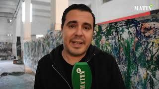 Driss Benwahoud expose à Marrakech : Daz habille le Kech boutique Hotel de mille et une couleurs