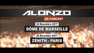 Alonzo en concert à Paris et Marseille avec Skyrock !