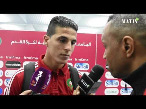 """Mohamed Nahiri : """"Je n'ai su ma titularisation que dans la matinée précédant le match"""""""