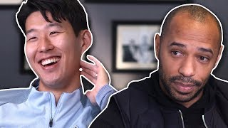 Why is Son always smiling? | Thierry Henry Meets Heung-Min Son