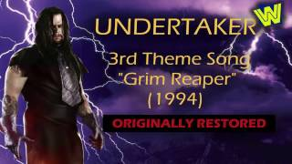 WWE - The Undertaker 3rd Theme Song (Grim Reaper) [100% Originally Restored]