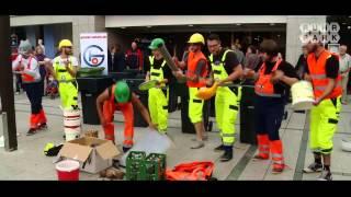 Flashmob der Groove Onkels im Ruhr Park