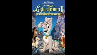 Closing To Lady And The Tramp II: Scamp's Adventure 2001 VHS [HQ]