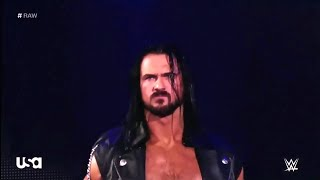 Drew mcintyre entrance with Broken dreams theme song
