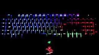 Caravan Palace - Midnight [Razer Chroma Audio Vizualiser]