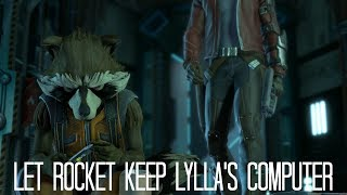 Guardians of the Galaxy The Telltale Series Episode 2 - Let Rocket Keep Lylla's Computer