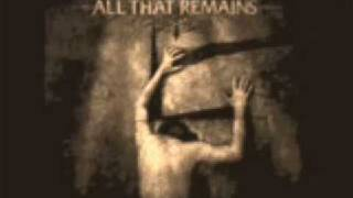 All That Remains - Not Alone+(Lyrics) #2