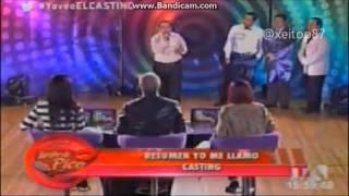 Casting: de Julio Jaramillo en Yo me llamo 2013 (teleamazonas-Ecuador)