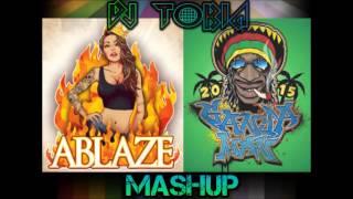 [MASHUP] Alfons - Ganjaman & Ablaze in Ablaze Man (Dj Tobia)
