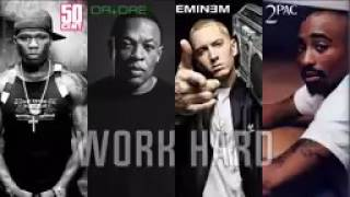 50 Cent   Work Hard ft  Eminem & 2Pac & Dr Dre NEW   2017 by rCent   Beat by Roma Beats