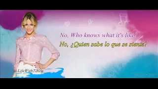 """CD Violetta """"Gira mi canción"""" Underneath it all - Letra - Traducida al español"""