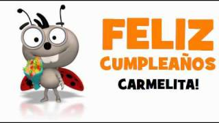 FELIZ CUMPLEAÑOS CARMELITA!