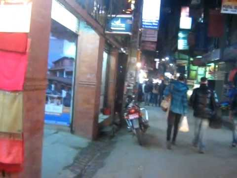 Rick's walk on the Streets of Thamel