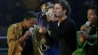 The Jacksons (feat Nsync): Dancin´ Machine (Live New York 2001).