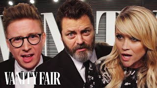 """Tyler Oakley, Reese Witherspoon, and Nick Offerman Read """"Cash Me Outside How Bow Dah"""" 