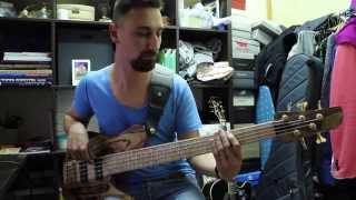 Breakbot - Baby I'm Yours bass cover