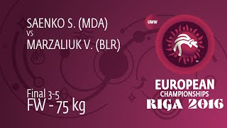 BRONZE:  Vasilisa MARZALIUK (BLR) df. Svetlana SAENKO (MDA), 5-0 width=