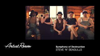 Steve 'n' Seagulls - Symphony of Destruction (Live) - Genelec Music Channel