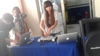 Carolina Rincón Dj set minimal techno (Radio Cnci)