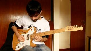 Blues Saraceno - Never Look Back by Santiago Lagar (Guitar Cover)