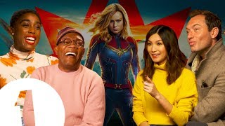 The Captain Marvel cast on keeping the MCU's secrets: