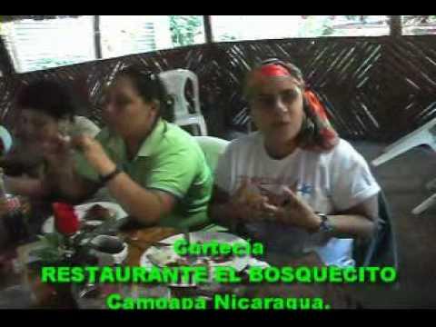 Silvia Díaz Restaurante el Bosquecito Camoapa Nicaragua