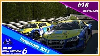 Campeonato GT6 CGC --Temporada 2014 -- #16 Resistencia 23/06/2014 [HD]