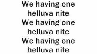 Madcon - Helluva Nite lyrics