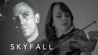 SKYFALL - Adele (James Bond Soundtrack) - violin cover