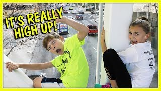 WHY ARE KAYLA & TYLER HANGING OFF A BRIDGE? | We Are The Davises