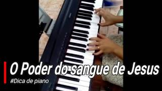 #Piano Fácil - Intro. O poder do sangue de Jesus (#Dica de Piano) ICM Maranata
