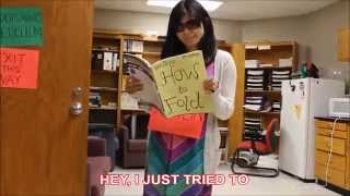 """""""FOLD ME, MAYBE"""" (A Parody of Carly Rae Jepsen's """"Call Me, Maybe"""")"""