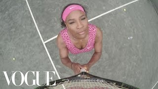 Serena Williams a facut un remake dupa Beyonce-