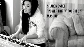J. Cole ft. Miguel- Power Trip/ Rihanna- Pour It Up MASHUP (@SharonEstee Cover)