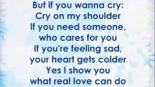 Cry On My Shoulder With Lyric