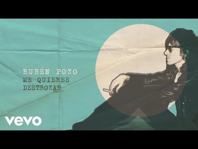 """Vídeo de la canción """"Me quieres destrozar"""" de Rubén Pozo."""
