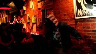 """Stayin Fresh Is All I Know"" Drique London Live@Sky Blew Show@Jack Sprat Cafe 12-18-2010"