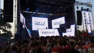 Martin Solveig - Hello live at Treptover Park, Lollapalooza Berlin 2016