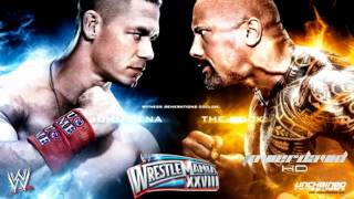 "WWE Raw 1/16/12 Wrestlemania 28 Official Theme Song ""Invisible"" Machine Guns Kelly"