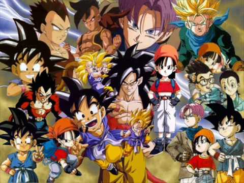 sigla dragon ball gt